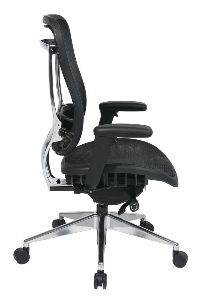 Big And Tall Executive High Back Chair With Soft Padded Arms Ergoback Com