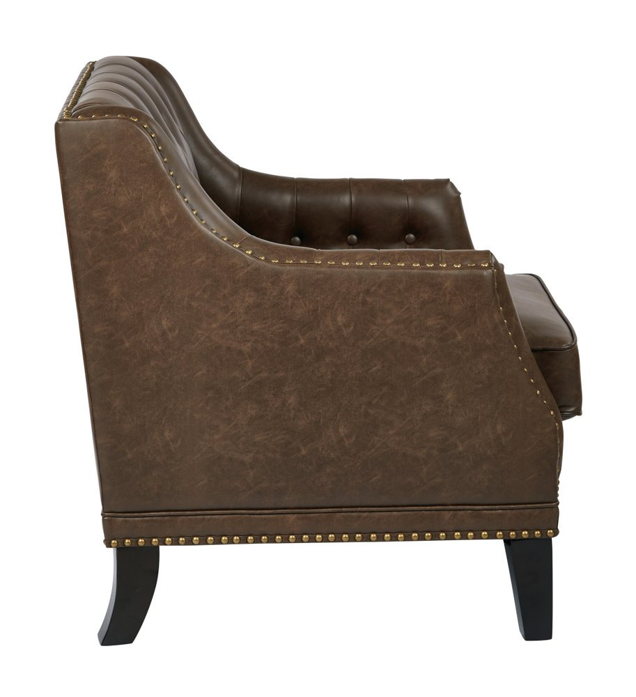 Bassett Inspired Office Chair You are here: Home / Accent Chair / Yorkshire Accent Chair With Mocha ...