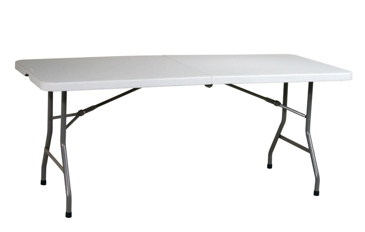 6 39 resin center fold multi purpose table for 10 foot folding table