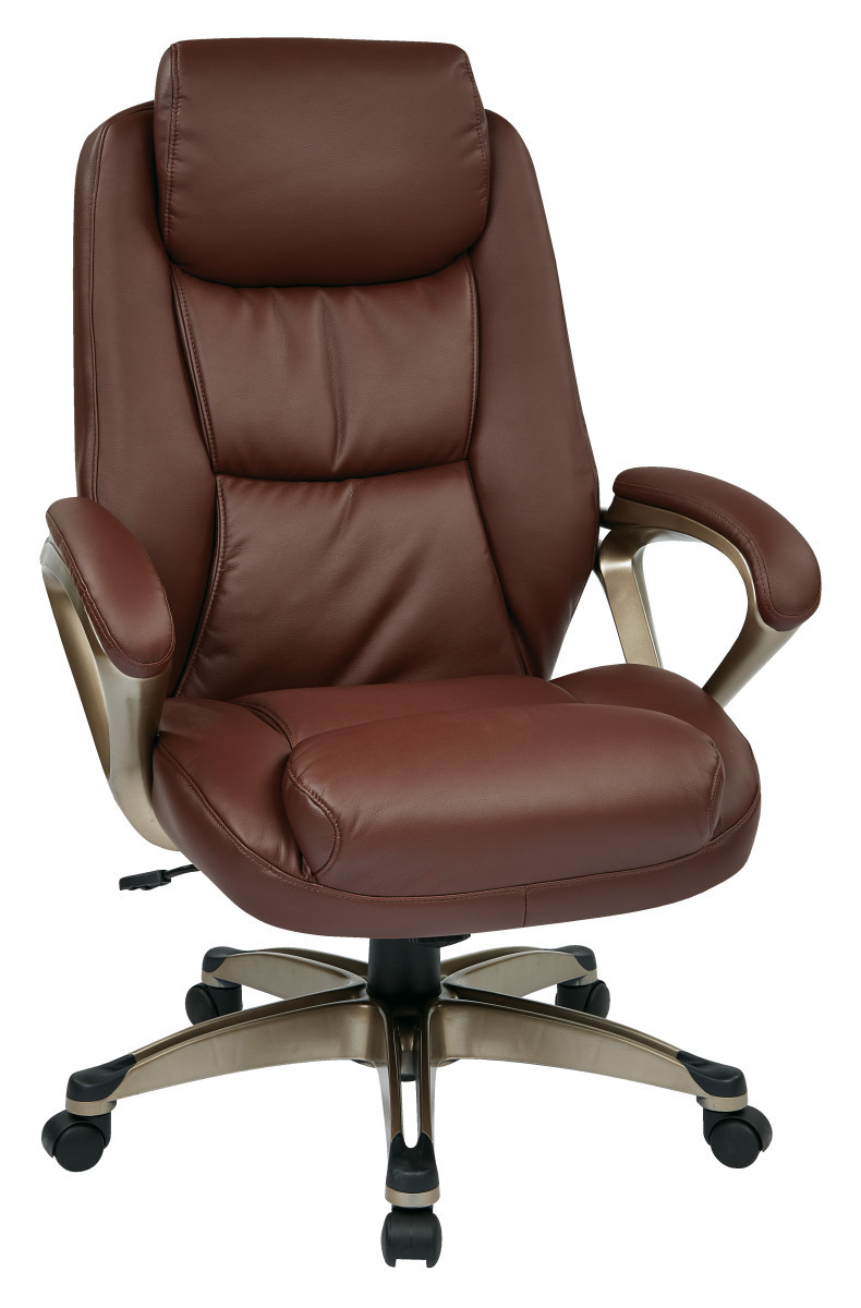 Executive Bonded Leather Chair - Ergoback.com