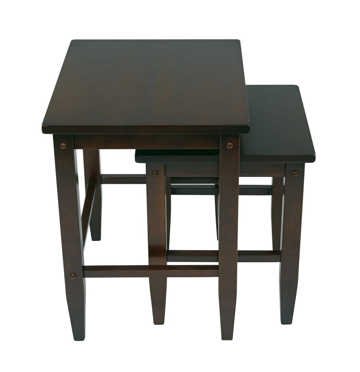 2pc Nesting Tables Ergoback Com