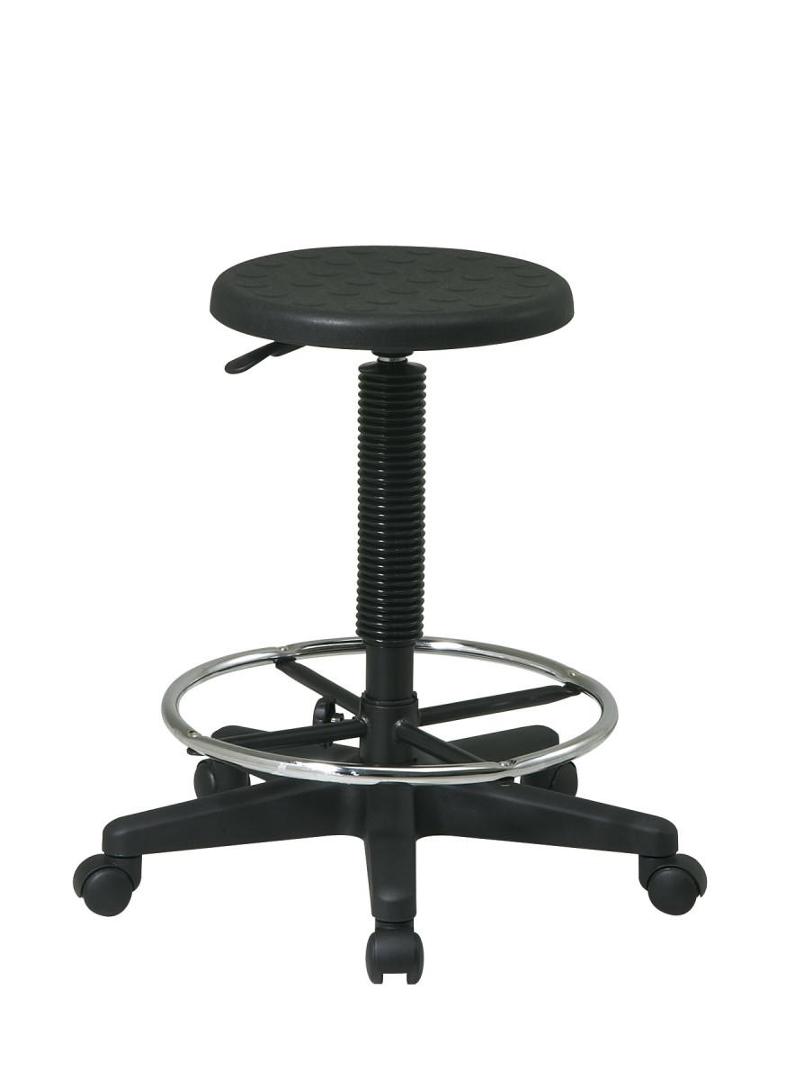 Stool With Adjustable Footrest Ergoback Com