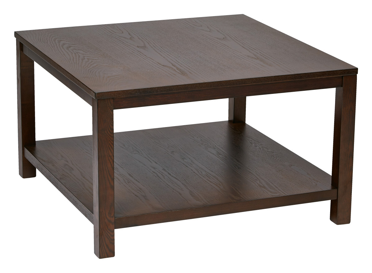 Merge 30 Square Coffee Table Espresso Finish