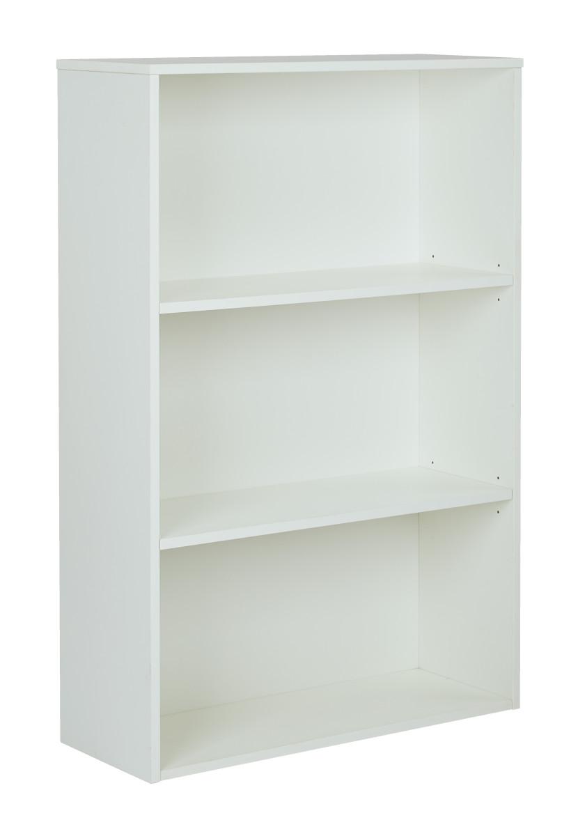 prado 48 3 shelf bookcase with 3 4 shelves and 2. Black Bedroom Furniture Sets. Home Design Ideas