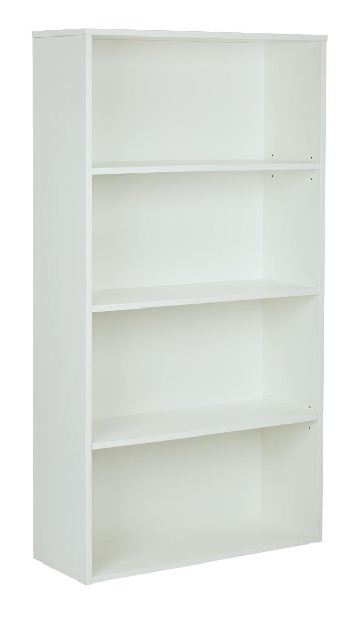 prado 60 4 shelf bookcase with 3 4 shelves and 2. Black Bedroom Furniture Sets. Home Design Ideas