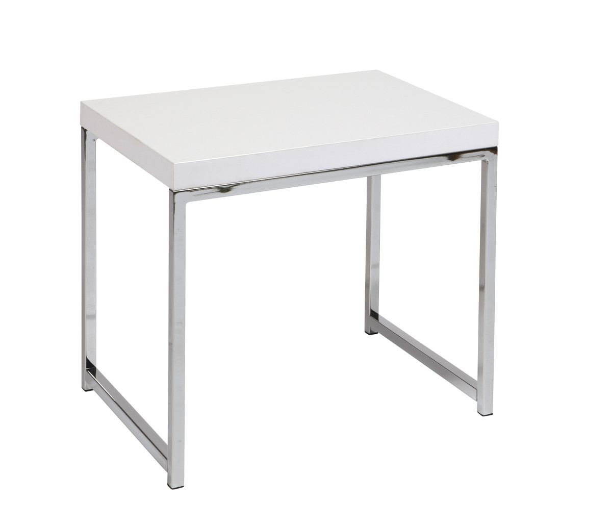 Wall street end table in white ergobackcom for White end tables