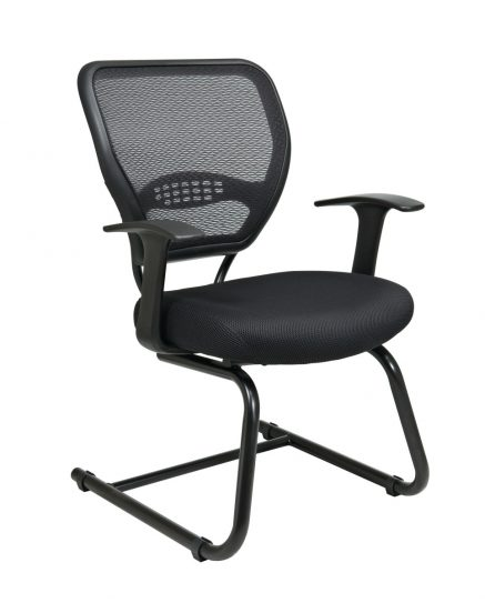 Professional Airgrid Back Visitors Chair with Mesh Seat