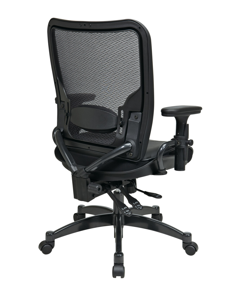 Professional dual function ergonomic airgrid back and for Function chairs