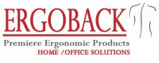Home office ergonomic solutions, the ErgoBack color logo