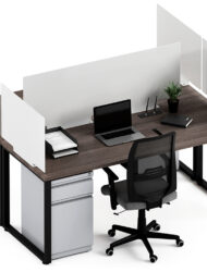 Steel Privacy Dividers for Desktop Cubicles